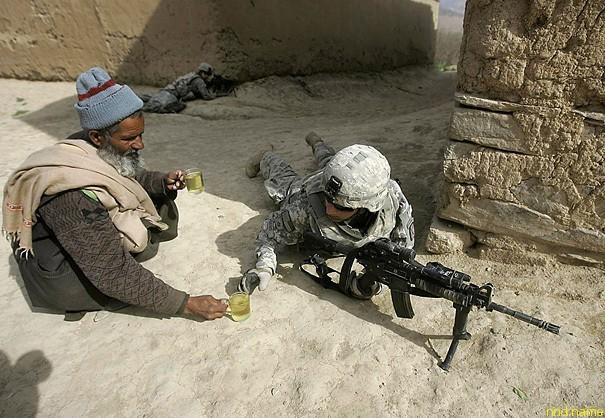 Солдаты тоже люди