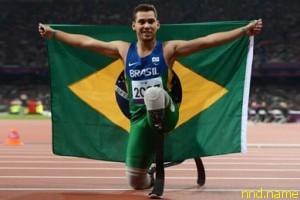 Алан Оливейра самый быстрый бегун планеты на лезвиях