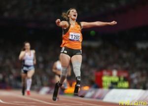 Ван Рейн - самая быстрая бегунья на лезвиях