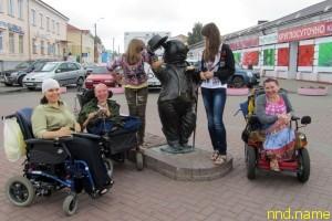 Турист электроколясочник - Один день в Бобруйске