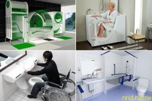 ТОП-10 ванных комнат для людей с инвалидностью