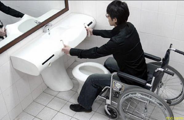 Универсальный туалет от корейских дизайнеров