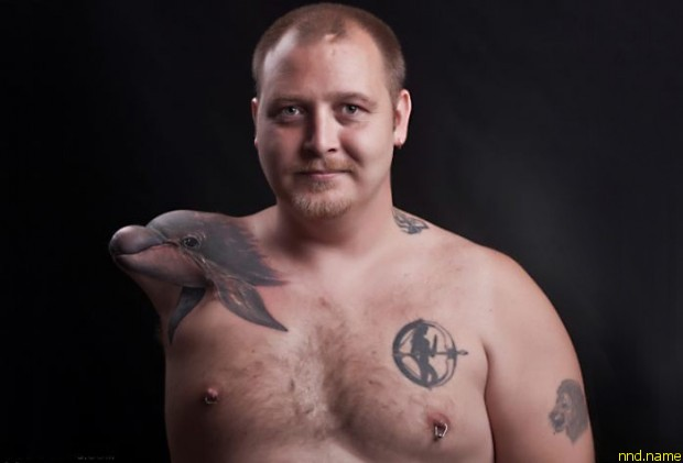 Жизнелюбивый норвежец Heine Braeck - человек амфибия