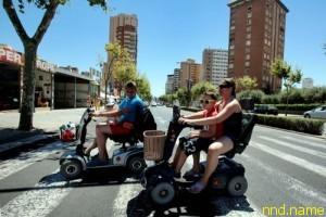 В Испании запретят пользоваться колясками, не имеющим инвалидности