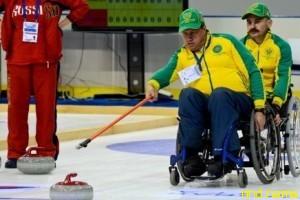 Чемпионат России по керлингу на колясках в Сочи