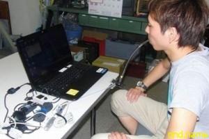 Японцы создали управляемую дыханием компьютерную мышь