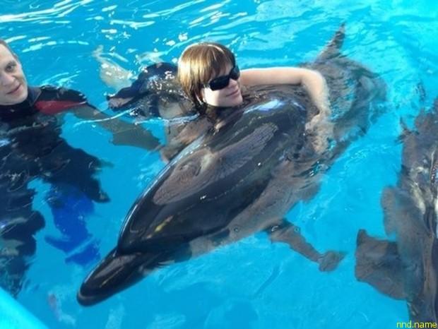 Патриция Курганова покорила Градского и искупалась с дельфинами