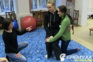 Ломая стереотипы: тренеры из Германии провели семинары по кинестетике