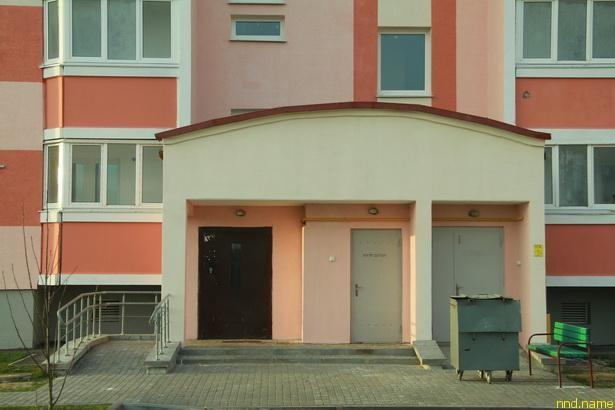 один из немногих в Барановичах домов социального типа, где нет входных ступенек и порогов