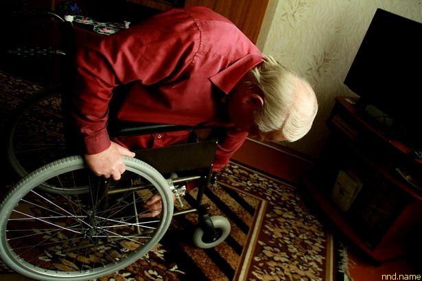 коляску Богуслав переделал под узкие проемы квартиры