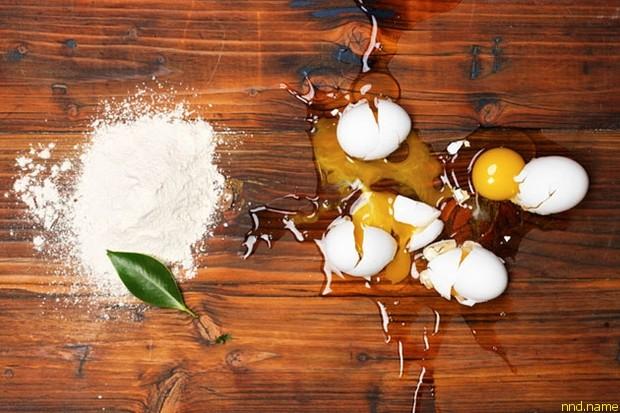Веганский заменитель куриных яиц - майонез и яичница
