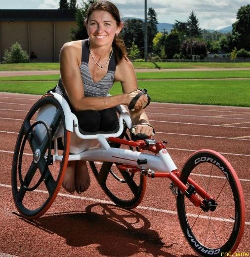 Мишель Стилвел, Канада (баскетбол, спринт на инвалидных колясках)