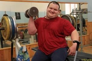 Силач-инвалид из Башкирии поставил рекорд по пауэрлифтингу