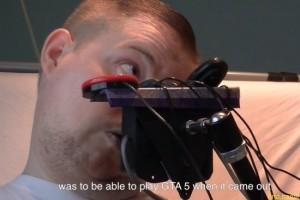 Инвалид прошел GTA 5 с помощью специального контроллера
