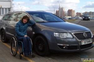 Двукратная чемпионка Параолимпиады Людмила Волчок
