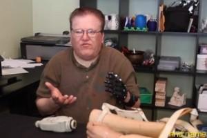 Хосе Дельгадо - протез руки напечатанный на 3D-принтере лучше