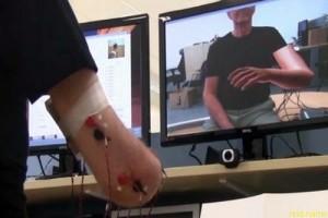 Виртуальная рука поможет лечению фантомной боли