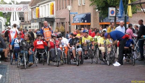 Путешествие на хэндбайках по Голландии