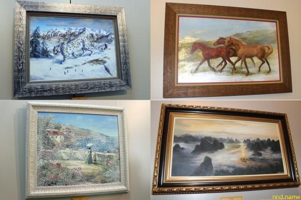 В Минске прошла персональная выставка Никаса Сафронова