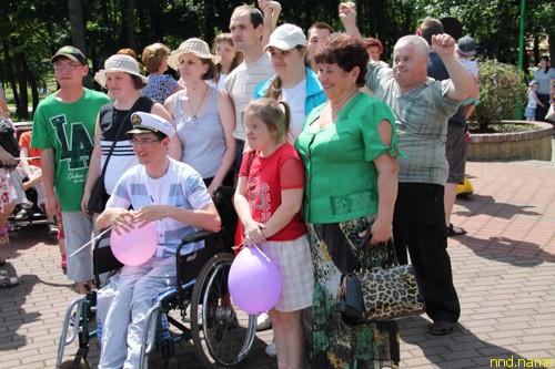 Ежегодный городской День инвалидов прошел в Бресте