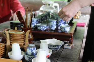 Чайная церемония в ботаническом саду