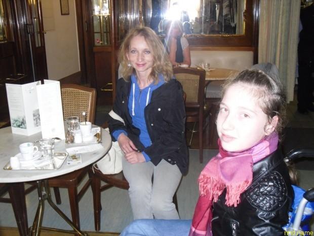 По чашечке кофе в знаменитом кафе, которое когда-то посещал Моцарт