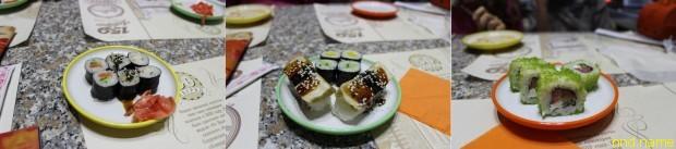 Зарисовки в японском стиле - кафе Yo!Sushi