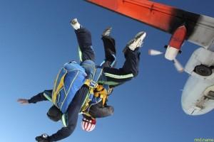 Хабаровск - прыжок с парашютом в тандеме