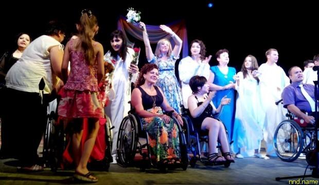 В Адыгее инвалиды-колясочники представили премьеру спектакля Per aspera ad astra