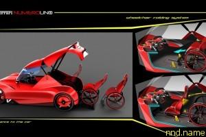 Ferrari для людей с инвалидностью