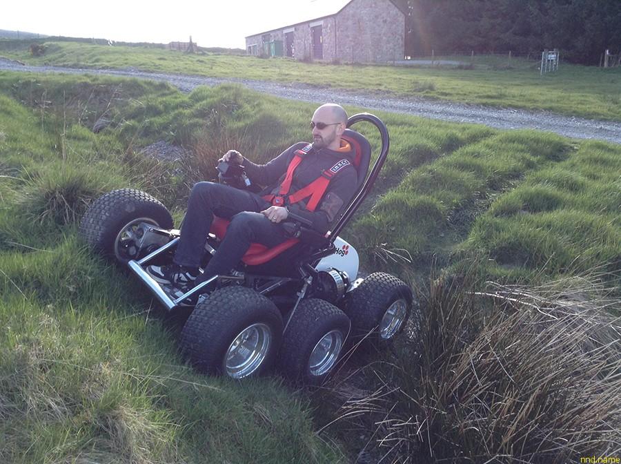 HexHog ATV – электроколяска внедорожник для инвалидов