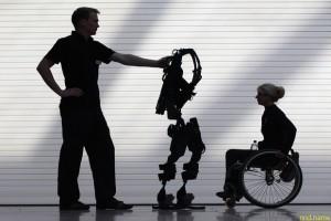 Экзоскелет для военных и инвалидов разрабатывают в Курске