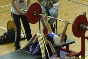 Александр Даськов обладатель Кубка Казахстана по пауэрлифтингу