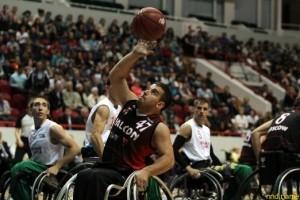 Владимир Кучин сыграл на Кубке России по баскетболу
