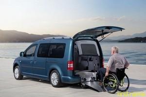 Volkswagen представила автомобили для колясочников