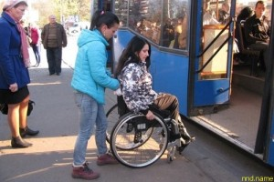 Калининград - колясочники проверили работу транспорта
