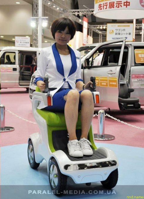 Suzuki представила концепт скутера – UT Concept