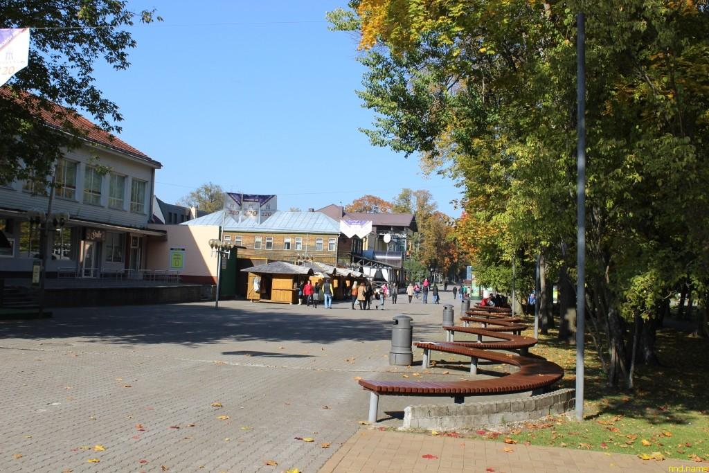 Литва, городом-курортом Друскининкай