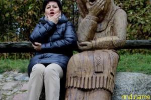 В гостях у скульптора Антанаса Чеснулиса