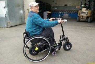 JUPISCOOTER — электроскутер приставка для коляски