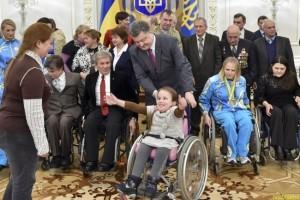 Петр Порошенко «Я не хочу, чтобы на Украине использовалось слово «инвалид»