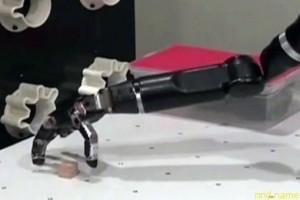 Парализованная американка научилась управлять роборукой силой мысли