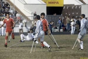Российская команда победила на чемпионате мира по футболу среди инвалидов