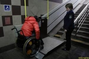 Мужчина подал в суд на метро за ущемление прав инвалидов