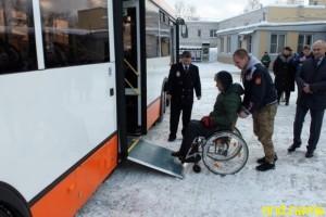 По Нижнему Новгороду начали курсировать 3 низкопольных автобуса