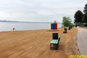 Пляж для инвалидов в Курортном районе Санкт-Петербурга
