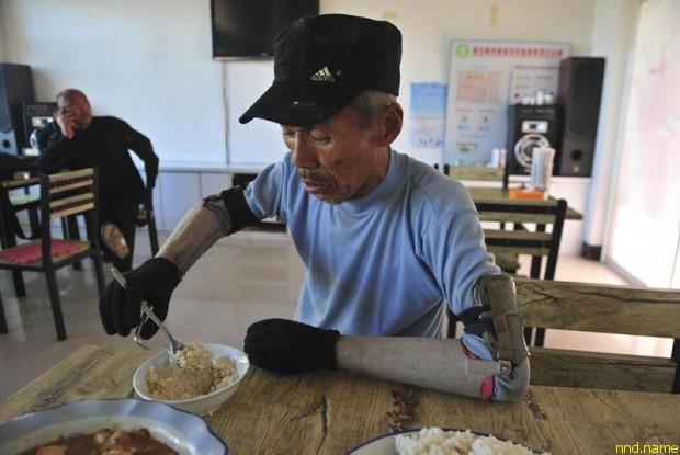 китайский фермер Сан Джифа