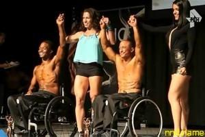 В США прошли соревнования культуристов-колясочников