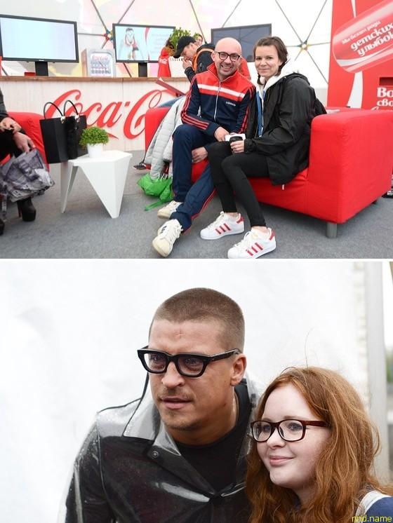 Диджеи Виталий Козак и Наталья Туровникова