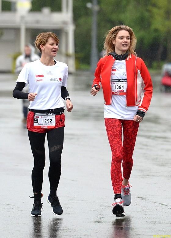 Полина Киценко (Podium) и Наталья Водянова